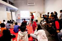 Surabaya AnimNation Festival, co-organised with Gathotkaca Studio, in Cergamboree 2013