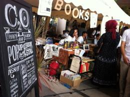 Pop-up library & bookshop at Sunday Market Surabaya