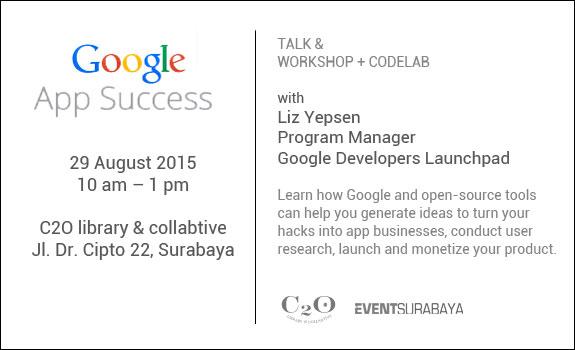 GoogleDevelopers-C2Olibrary-Surabaya