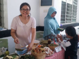 Monthly Pasar Sehat Farmers' Market every first Sunday